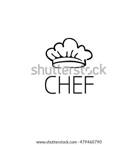 Chef Hat Logo Graphic Design Concept Stock Photo (Photo, Vector ...