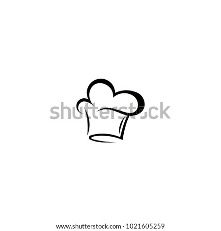 Chef Hat Logo Vector Abstract Template Stock Vector 1021605259 ...