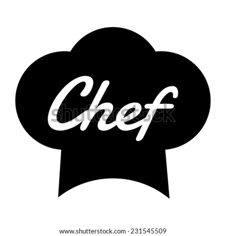 chef hat vector illustration stock vector 231545509 shutterstock rh shutterstock com Black and White Chef Hat Chef Hat Transparent Bacjkground