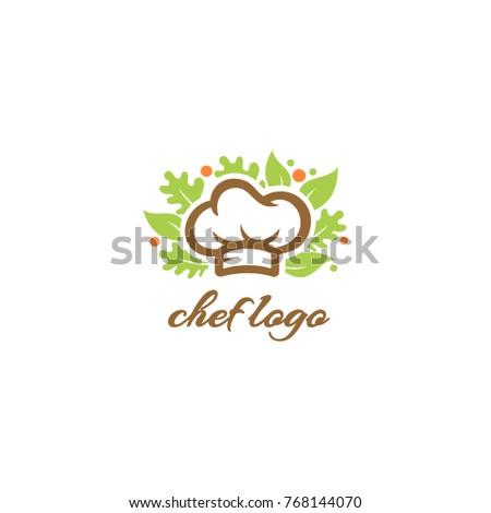 Chef Logo Chef Hat Vector Salad Stock Vector HD (Royalty Free ...