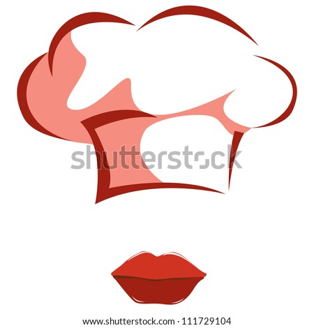 Chef Woman - stock vector