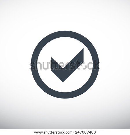 chemical reaction in a flask web icon. vector design - stock vector