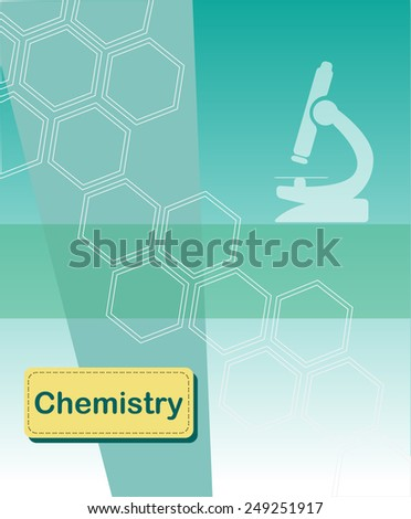 Chemistry concept vector background