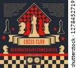 chess board game sport club...