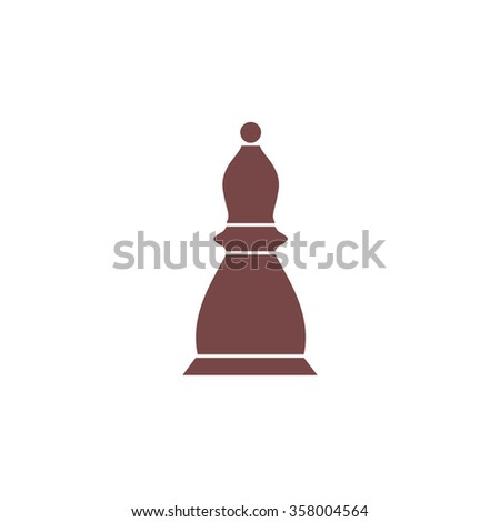 Chess officer. Colorful vector icon. Simple retro color modern illustration pictogram. Collection concept symbol for infographic project and logo - stock vector