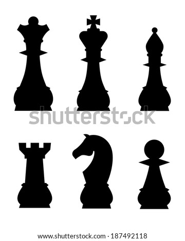 Chess Pieces - Vector