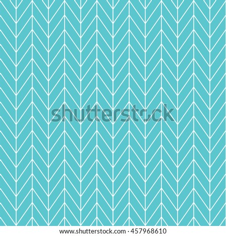 Chevron herringbone pattern background. Vintage retro vector design element. - stock vector