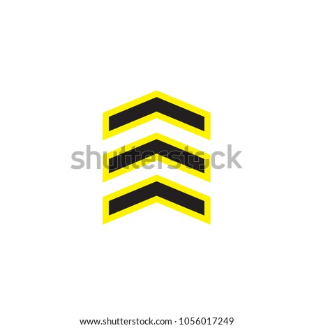 Chevron Icon Trendy Flat Style Isolated Stock Vector 1056017249