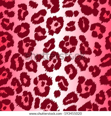 Chic vector seamless patterns (tiling). Animal print, leopard texture