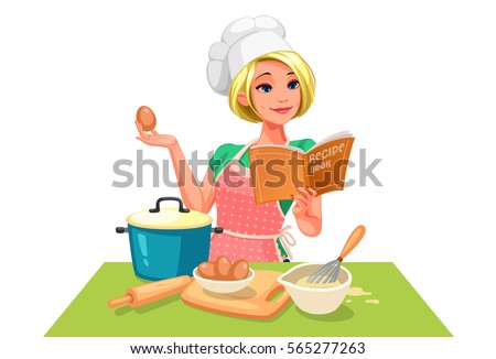 chief cook stock vector royalty free 565277263 shutterstock