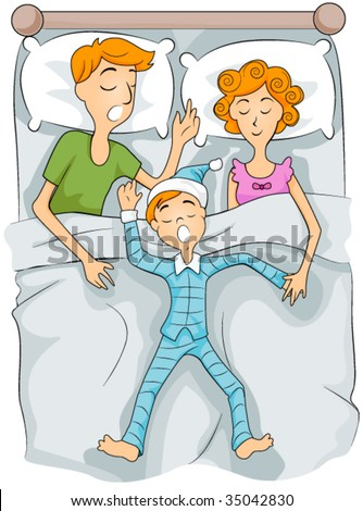 Bedroom Cartoons Stock Images, Royalty-Free Images ...