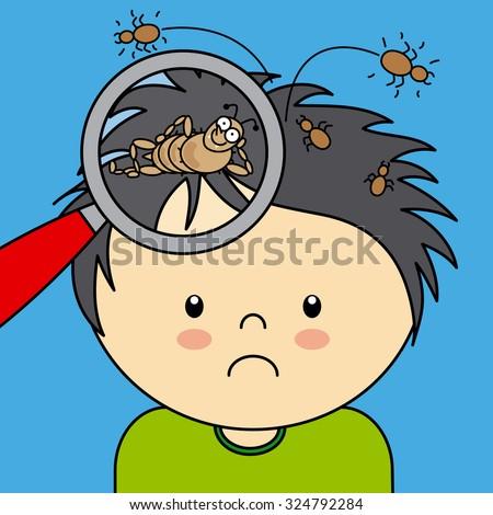 Child Combing Hair Stock Vectors Amp Vector Clip Art