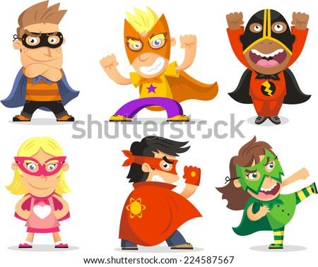 Superhero Cartoon Stock Images, Royalty-Free Images & Vectors ...
