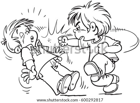 kids fighting stock images royaltyfree images amp vectors