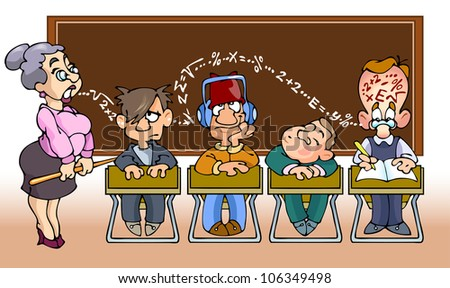 Listen to The Teacher Clipart And Listen The Teacher