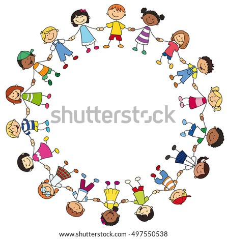 Children Holding Hands Stock Images, Royalty-Free Images & Vectors ...
