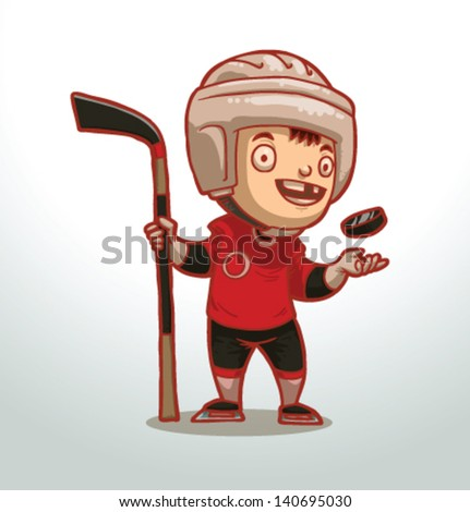 children playing sports, vector, 01 - stock vector