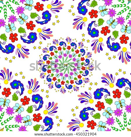 Flower Mandala Stock Images Royalty Free Images Amp Vectors