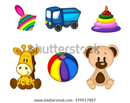 Children Vector Toys