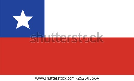 chile Flag for Independence Day and infographic Vector illustration. - stock vector