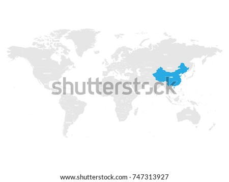 World Map With Country Names Stock Images RoyaltyFree Images - World political map with country names