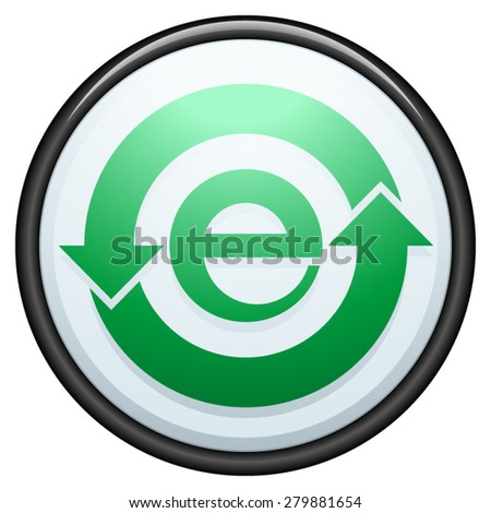 China RoHS compliant label - stock vector