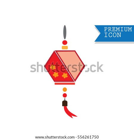 Chinese decorative vector icons for Chinese New Year