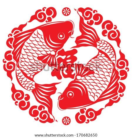 Chinese New Year Fish Symbol Chinese New Year Symbol
