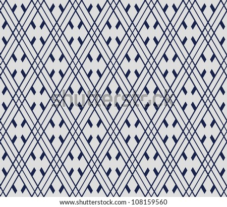 chinese seamless pattern - stock vector