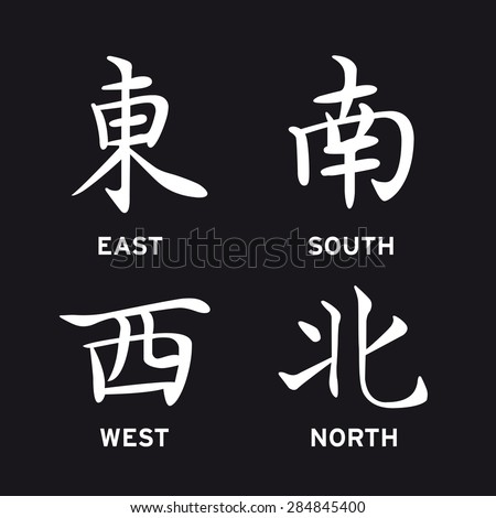how to say east in chinese