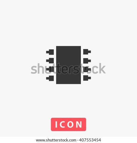chip Icon. chip Icon Vector. chip Icon Art. chip Icon eps. chip Icon Image. chip Icon logo. chip Icon Sign. chip Icon Flat. chip Icon design. chip icon app. chip icon UI. chip icon web. chip icon grey - stock vector