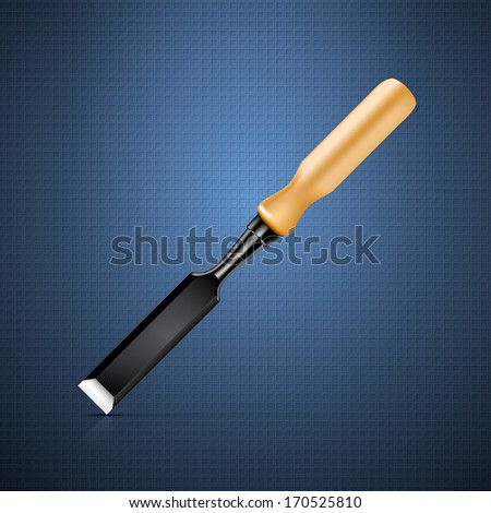 Chisel - stock vector