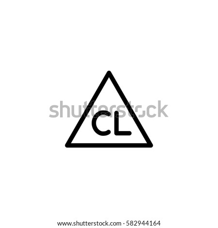 Chlorine stock images royalty free images vectors shutterstock chlorine bleach washing laundry symbol line icon black on white urtaz Gallery
