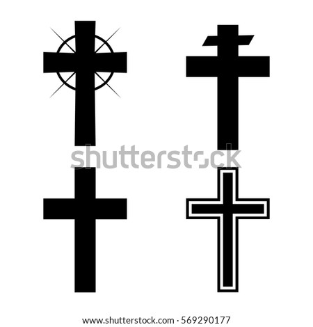 Christian cross variations