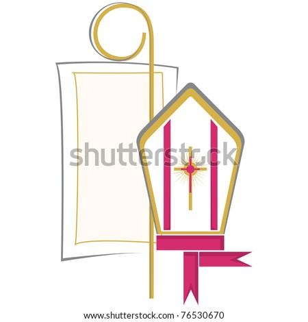 Christian Symbol Confirmation Stock Vector Hd Royalty Free