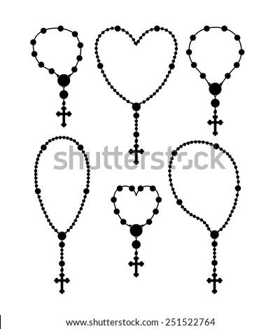 christianity design over white background, vector illustration. - stock vector