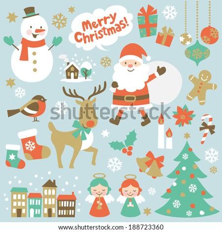 Christmas - stock vector