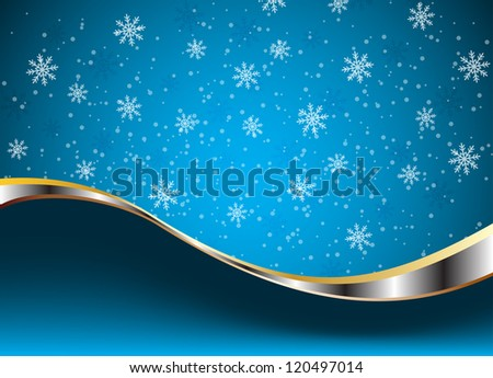 Christmas and New Year theme abstraction. Clip-art - stock vector