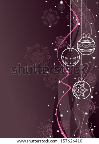 Christmas Background. - stock vector