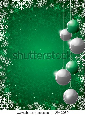 Christmas Background. Abstract Illustration. Eps10 Format.