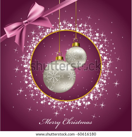 Christmas Background. Abstract Illustration. eps10. Vector. - stock vector