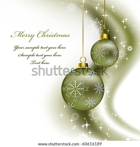 Christmas Background. Abstract Illustration. eps10. Vector.