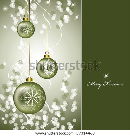 Christmas Background. Abstract Illustration in eps10 format.