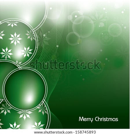 Christmas Background. Abstract Vector Design.