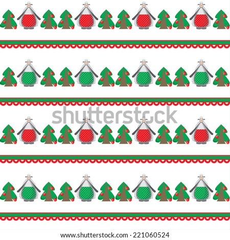 Christmas background, dance funny sheep with trees, new year's eve party, happy day, holiday