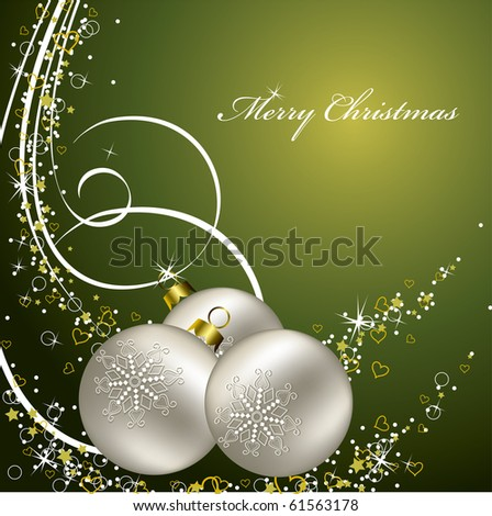 Christmas Background. eps10. - stock vector