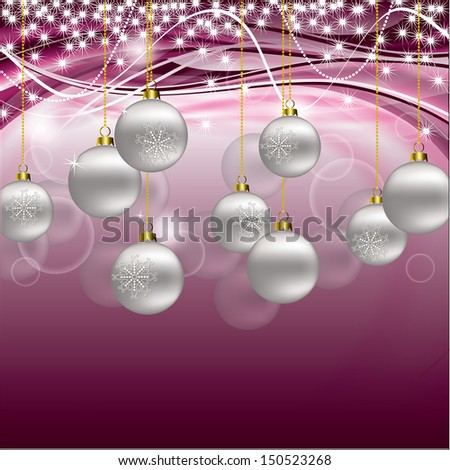 Christmas Background. Eps10 Format. - stock vector
