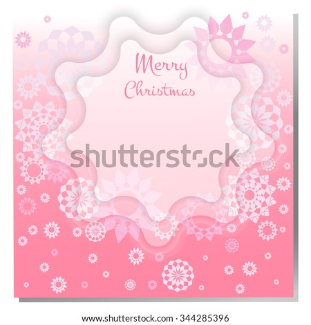 Christmas background gritting card invitation label stock vector gritting card or invitation label banner page design decorative stopboris Choice Image