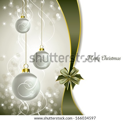 Christmas Background. Holiday Design.