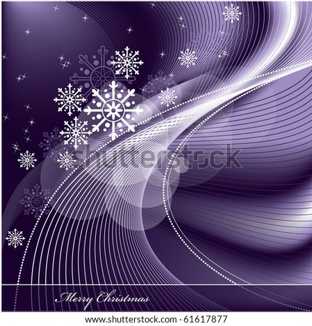 Christmas Background. Illustration. - stock vector